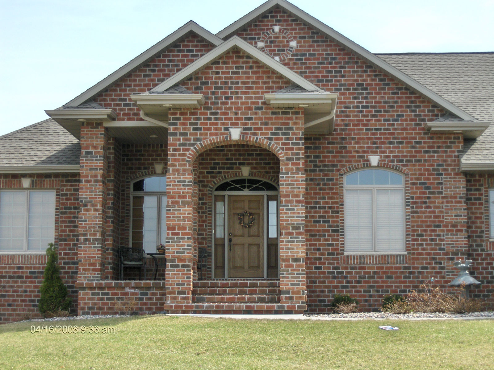 Gagnon clay products green bay and appleton brick stone for Face brick homes