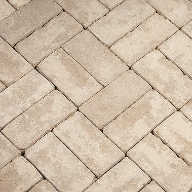 Polar White Clear Paver