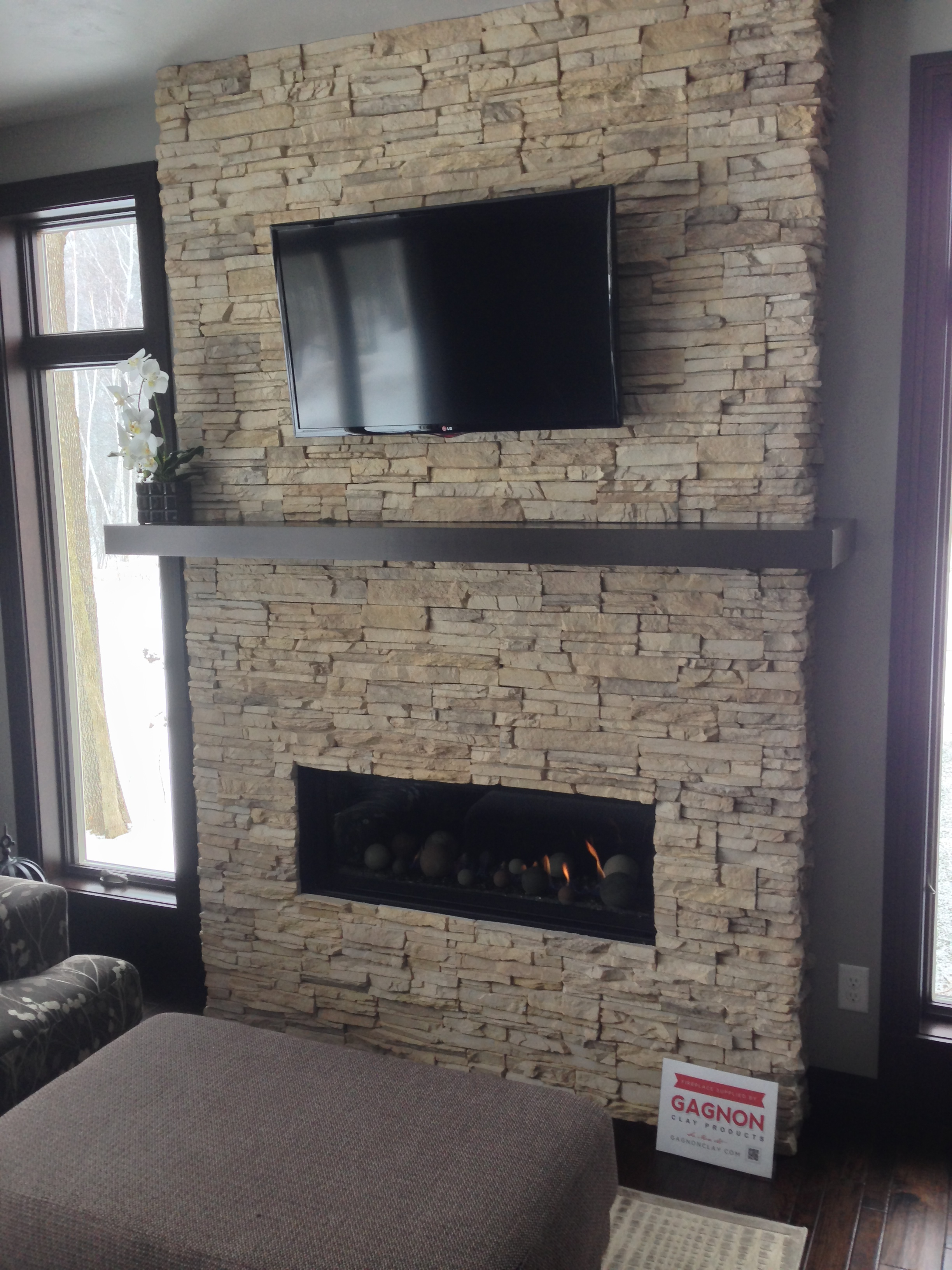 Marquis Skyline Ii With Dry Creek Stacked Stone Gagnon