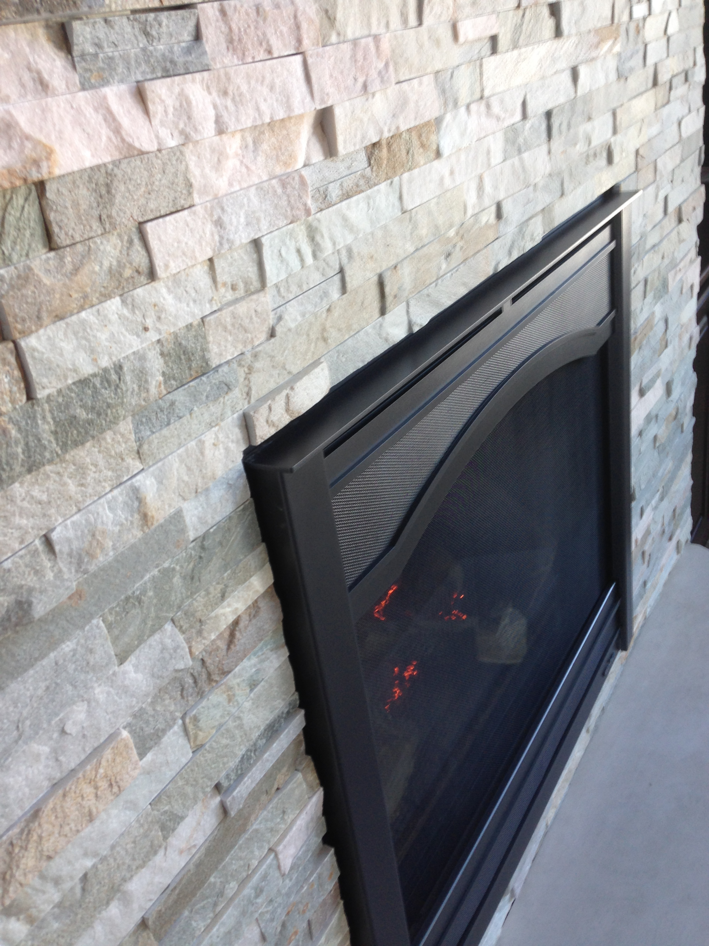 Heat & Glo 6000C Fireplace - Graphite Arcadia Front ...