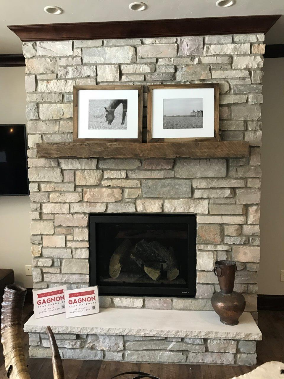 Halquist Chilton Ledgestone - Fireplace - Gagnon Clay Products