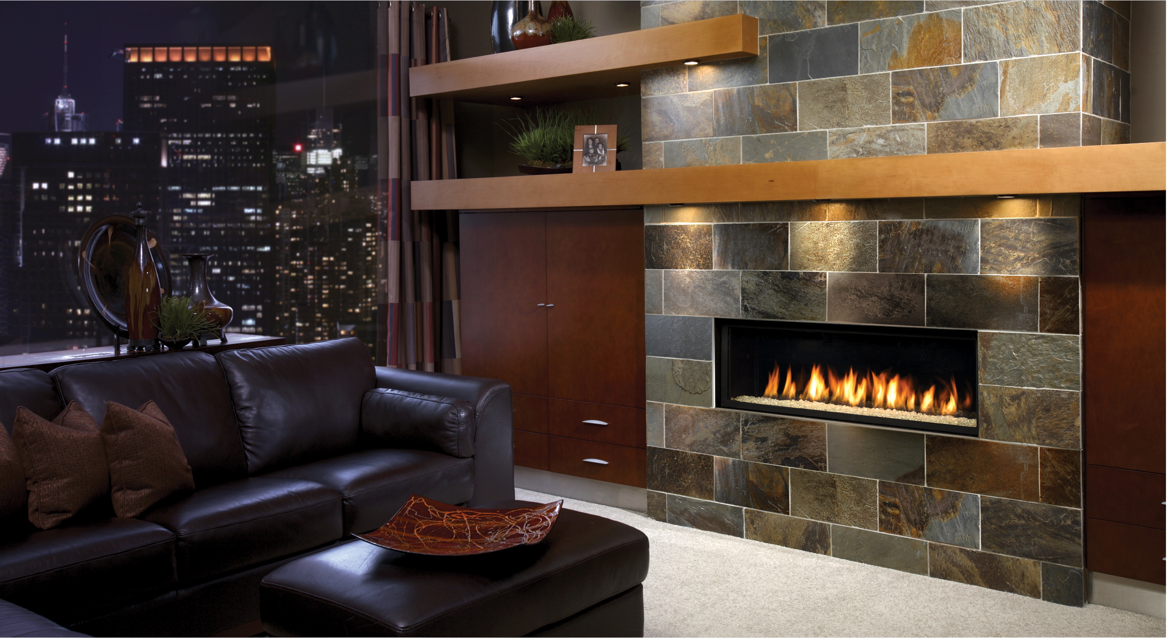 The Marquis Infinite Fireplace Gagnon Clay Products