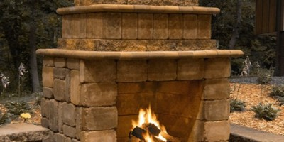 Firerock Outdoor Fireplace