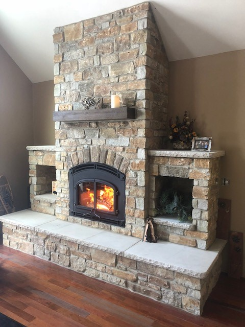 Quadra Fire 7100 With Mission Front With Door Country