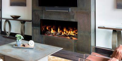 Heat & Glo Foundation Gas Fireplace